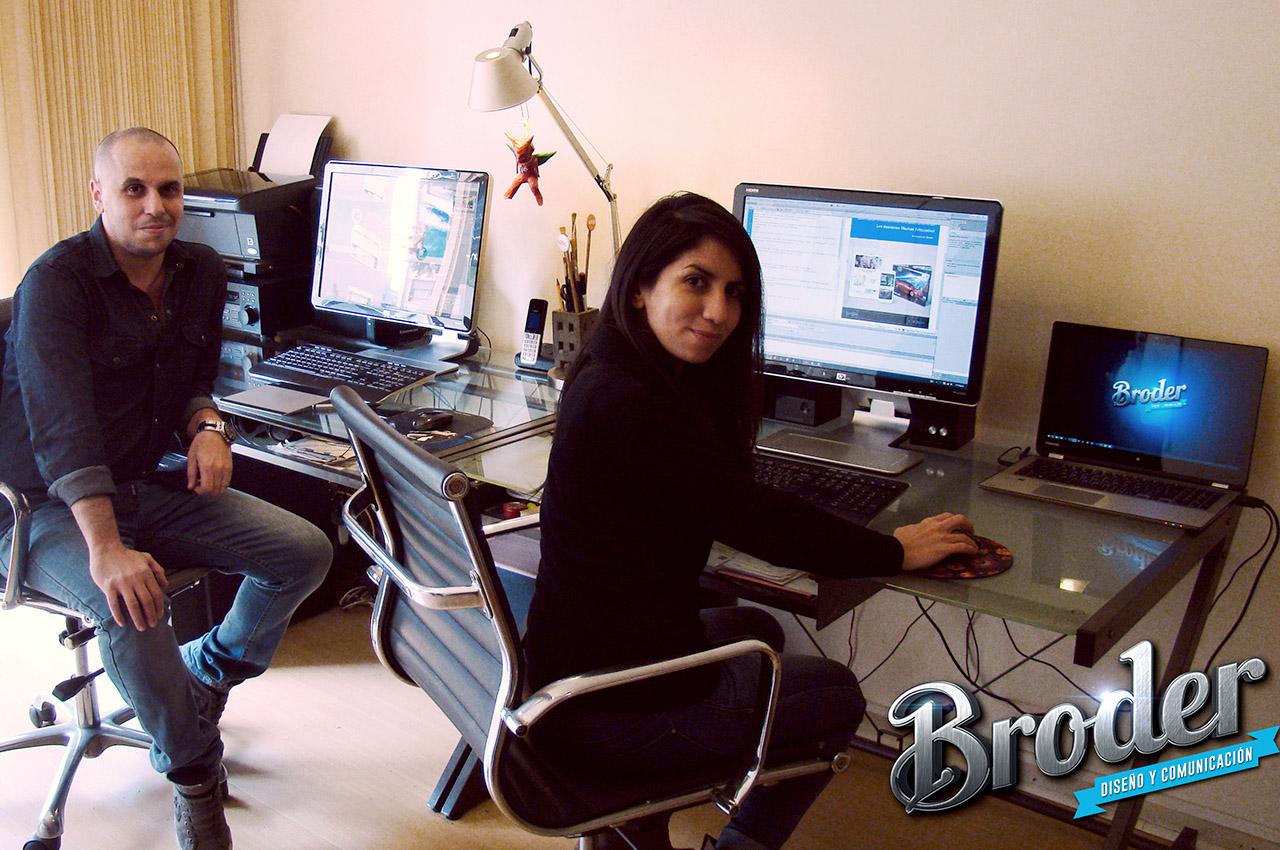 Fernando Moya y Silvana Efron Estudio Broder 2