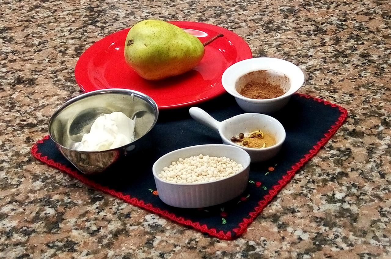 Peras especiadas - Chef Luly Lopez Arias - 2