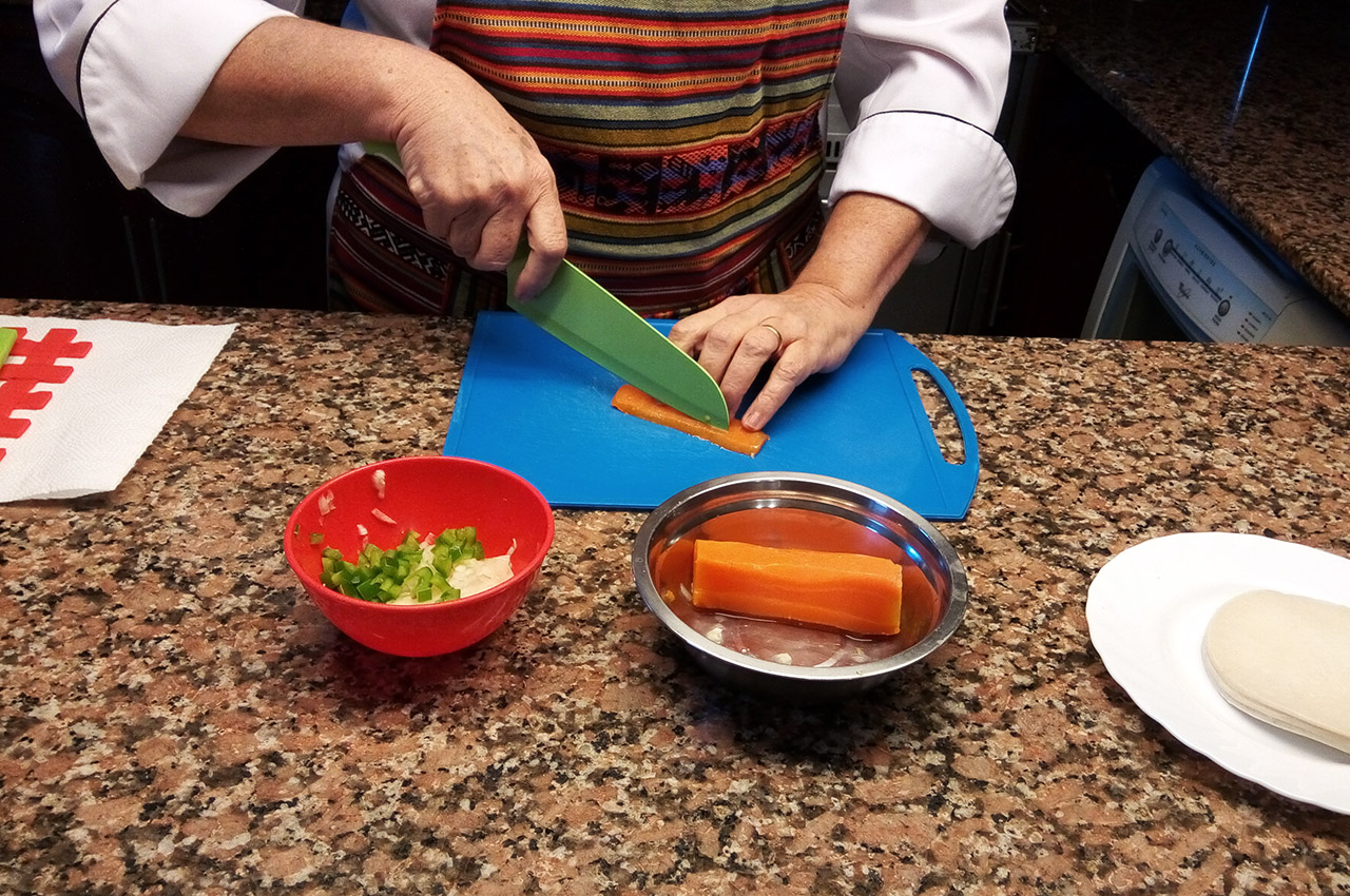 Mini tartas de vegetales - Chef Luly Lopez Arias - 1