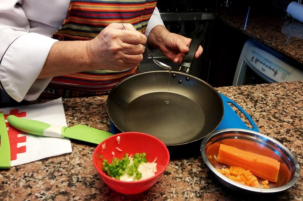 Mini tartas de vegetales - Chef Luly Lopez Arias - 2